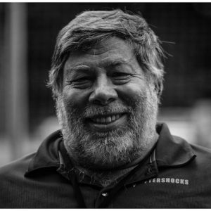 Woz at The 2015 Woz Cup Challenge Segway Polo Tournament in Germany July, 2015. Photo by: Volker Lewe